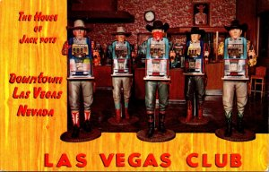 Nevada Las Vegas The Las Vegas Club The House Of Jack Pots With One Armed Ban...