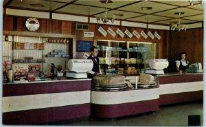 Hamilton, Ohio Postcard ALPINE-ALPA CHEESE FACTORIES Store Interior c1960s