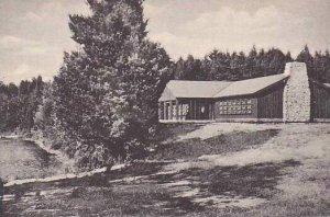 New York Adirondack Mountains Brantingham Dining Hall Camp Aldersgate Albertype
