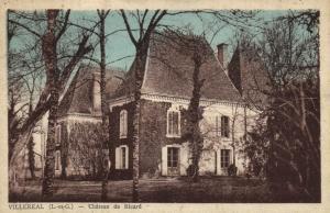 CPA Villereau Chateau de Richard Lot et Garonne (100697)
