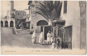 Algeria, Algiers, ALGER, Le Marabout de l'Amiraute, unused Postcard