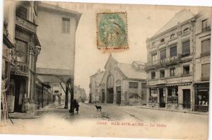 CPA BAR-sur-AUBE - La halle (197125)