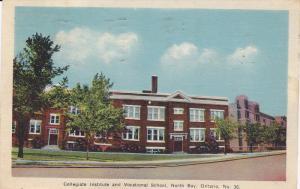 Collegiate Institute and Vocational School, North Bay, Ontario, Canada, PU-1936