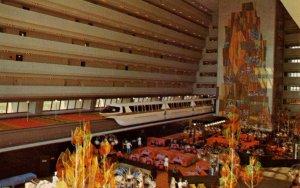 FL - Orlando. Walt Disney World. Contemporary Resort, Grand Canyon Concourse