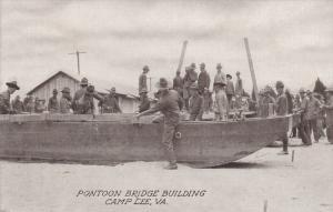 Pontoon Bridge Building, Camp Lee, Virginia, 00-10s