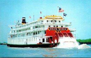 Sternwheeler Delta Queen 1993