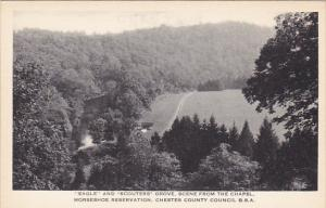 Eagle and Scouters Grove Horseshoe Reservation Chester County Council Boy Sco...