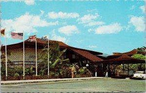 Kingston Sheraton Hotel Jamaica Unused Vintage Postcard F91
