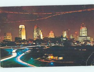 Pre-1980 PANORAMIC VIEW Kansas City Missouri MO hp4344