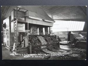 Wiltshire WILTON ROYAL CARPET FACTORY Sizing & Drying Machine - Old RP Postcard