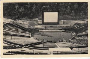 Berlin Waldbuhne-Freilichtkino -  Large Outdoor Theatre 1952