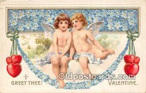 Valentines Day Postcard Post Card Old Vintage Antique  Valentines Day