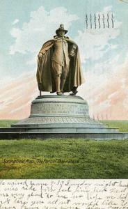 MA - Springfield, The Puritan Chapin Statue