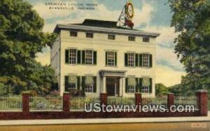 American Legion Home Evansville IN Unused