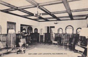 New Lobby Lady Lafayette, Walterboro, South Carolina, 1910s