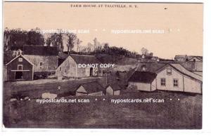 Farm House at Talcville NY