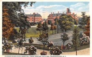 Hudson River State Hospital Poughkeepsie, New York Postcard