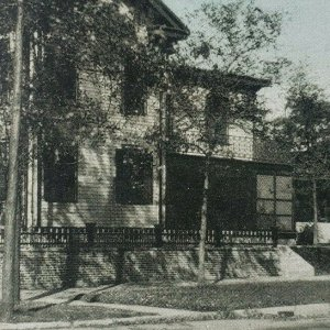 Abraham Lincoln's Home Springfield Illinois National Historic Site Postcard F130