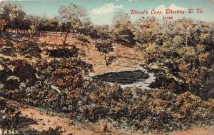 E78/ Wheeling West Virginia Postcard 1912 Wetzel's Cave Entrance