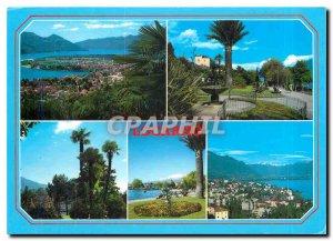 Modern Postcard Locarno Muralto Lago Maggiore