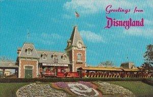 Disneyland Santa Fe and Disneyland Depot 1965