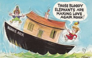 Those bloody Elephants are making Love Again , Noah! , 1950s
