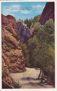 Colorado Colorado Springs Cheyenne Gorge South Cheyenne Canon