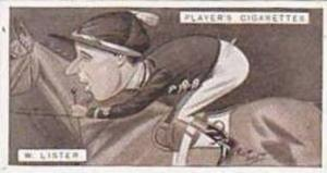 Player Vintage Cigarette Card Racing Caricatures 1925 No 26 W Lister