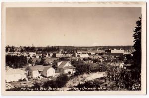 RPPC, Mt Rainier, Port Orchard WA