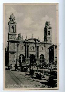 192186 Uruguay MONTOVIDEO Plaza Constitucion Vintage postcard
