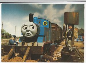 Thomas The Tank Engine & Friends Postcard, Unposted- Thomas & The Fat Controller