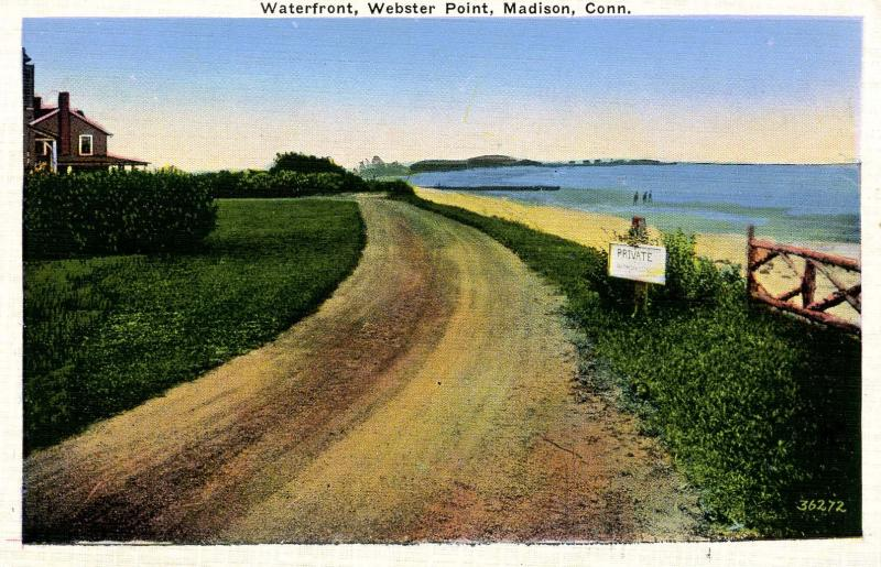 CT - Madison. Webster Point Waterfront