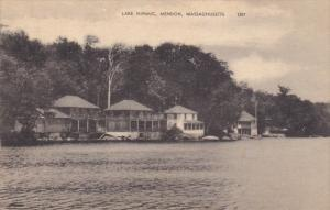 MENDON, Massachusetts, 1900-1910's; Lake Nipmuc