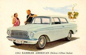 1962 AMC Rambler American Deluxe 2-door sedan vintage pc ZD549904