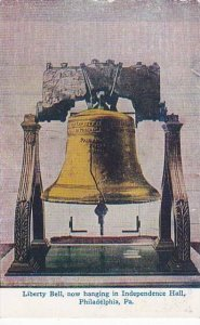Pennsylvania Philadelphia Liberty Bell Now Hanging in Indepence Hall