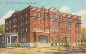 BELLEVILLE , Ontario, 1900-10s ; Hotel Quinte