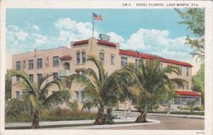 Florida Lake Worth Hotel Florida 1925