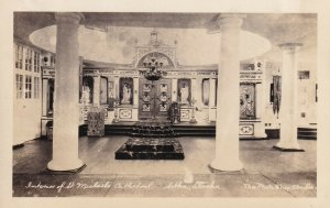 RP: SITKA, Alaska, 1910-20s; Interior of St. Michael's Cathedral