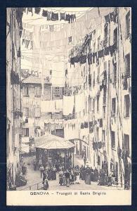 Truogoli of Saint Bridget Genoa Italy unused c1920's