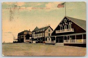 Salisbury Beach MA~Seaside Hotel~Roller Skating Rink~Leslie's Dry Goods~1910