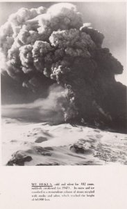 RP: Mt. HEKLA Volcano Eruption , Iceland , 1947