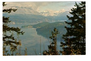 Indian Arm from Burnaby Mountain, British Columbia