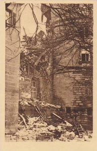 Stuttgart , Germany, 1931; Brand des alten Schloss #3
