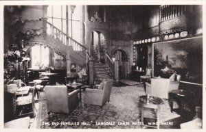 RP: Old Panelled hall, Langdale Chase Hotel , Windermere , England , 20-40s