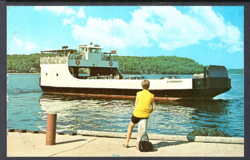 Eyrarbakki,Washington Island Ferry,WI / HipPostcard