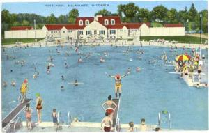 Hoyt Swimming Pool in Milwaukee, Wisconsin, WI,  Linen