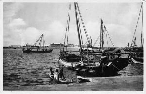 Colonia Eritrea Massaua, Veduta dal Lungomare Gasparini Bateaux Port