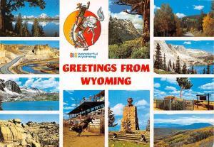 Greetings from Wyoming, Big Wonderful Wyoming, multiviews