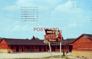 1962 ROUND-UP MOTEL, CLAREMORE, OKLA. Red and Sally Oats, Owners