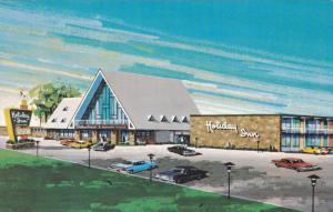 Holiday Inn , Rond Point , Pont de Quebec , Canada , 50-60s